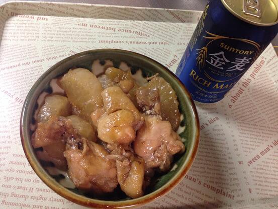 【優秀賞】圧力鍋でスピード調理「鶏手羽元と大根煮」