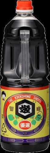 キッコーヒメ優選醤油 1.8L
