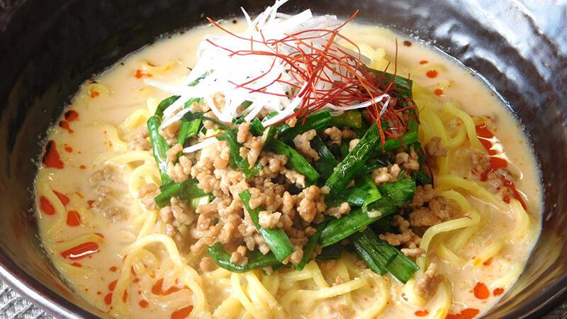 めんつゆアレンジ篇 冷やし担々麺